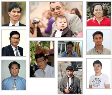 Hình ảnh nhóm phát triển Prime Circa, phần lớn trong số đó đang sống tại TP.HCM