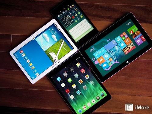 Android, nền tảng, máy tính bảng, tablet, iPad, lượng tiêu thụ, phát triển, tăng trưởng, thị trường