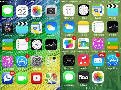 iOS, tính năng, hỗ trợ, biểu tượng, font chữ, Apple, hệ thống
