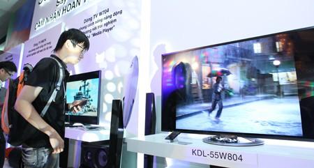 số hóa truyền hình, TV, DVB-T2. Bộ TT&TT, LG, Sony
