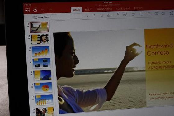 Microsoft Office cho iPad