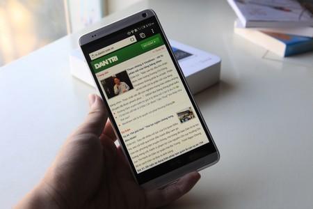 Duyệt web trên HTC One max