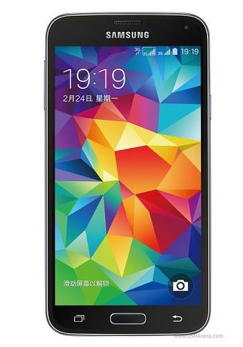 Galaxy S5 với 2 khe cắm SIM.