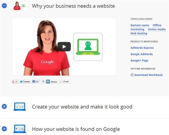 Google, ứng dụng