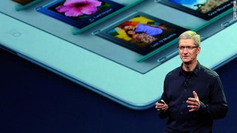 iPhone, Apple, Tim Cook, báo cáo tài chính
