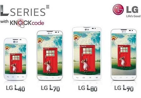 L80 là thành viên mới nhất của dòng smartphone L Series III