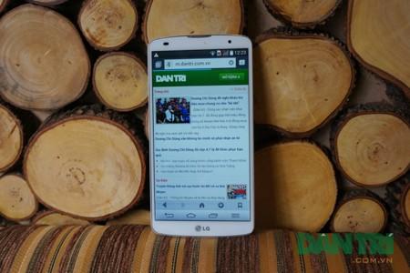 Cận cảnh phablet mỏng và mạnh LG G Pro 2 chuẩn bị bán tại Việt Nam