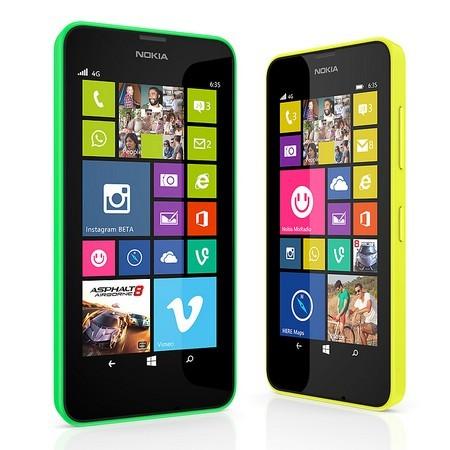 Lumia 630 và Lumia 635 là bộ đôi smartphone giá rẻ mới của Nokia