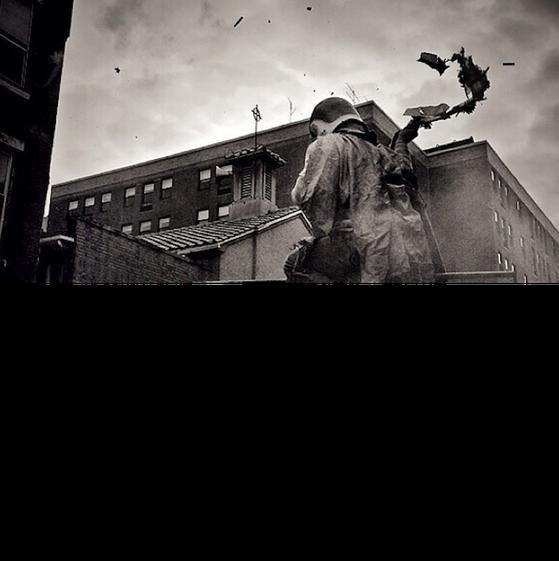 David Maialetti, phóng viên ảnh sống ở Philadelphia chụp bức ảnh này bằng iPhone.