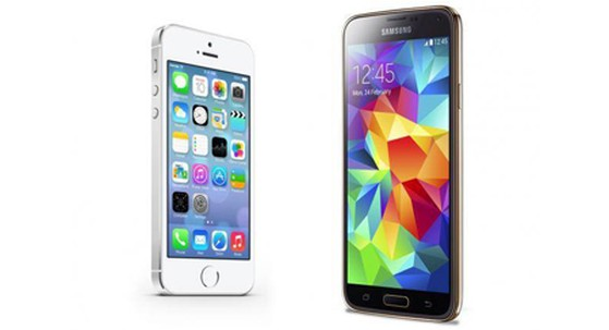 Samsung, Apple, iPhone 5S, Galaxy S5, Marketing Insight