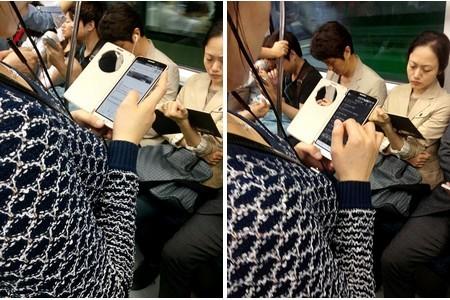 LG G3 bị bắt gặp trên tàu điện ngầm
