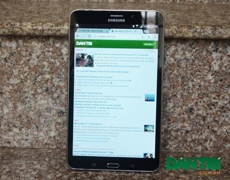 Ảnh thực tế Samsung Galaxy Tab 4 8.0 sắp bán tại Việt Nam