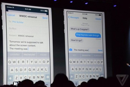 Đang diễn ra Hội nghị WWDC 2014: Các tính năng mới trên iOS8
