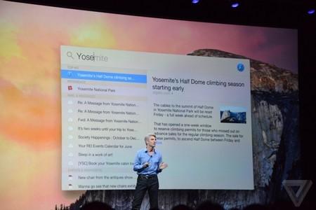 Công cụ tìm kiếm Spotlight trên OS X 10.10 được trang bị thêm nhiều chức năng tìm kiếm hơn