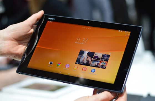 Sony Xperia Tablet Z2.