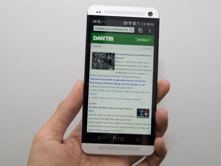HTC One phiên bản quốc tế có mặt tại Việt Nam