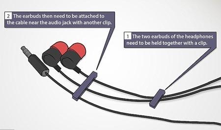 mẹo đơn giản, dây tai nghe, chống rối