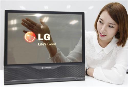 LG, màn hình, OLED, dẻo, cuộn, trong suốt,