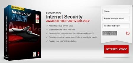 Bản quyền miễn phí phần mềm bảo mật Bitdefender Internet Security