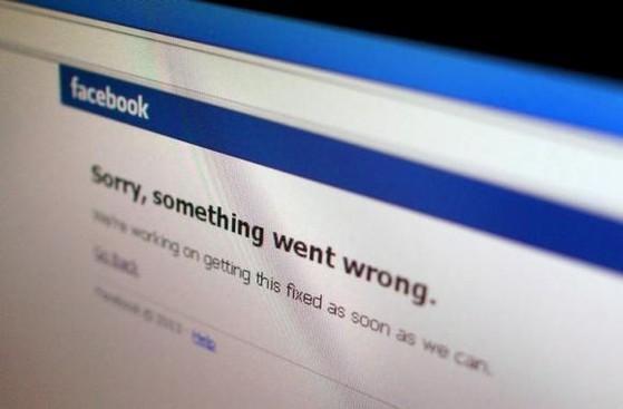 Facebook, sự cố, mạng xã hội