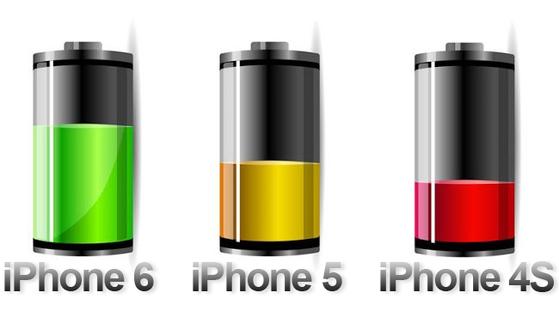Pin iPhone 6 sẽ cao hơn các iPhone tiền nhiệm. (Ảnh: ZDNet)
