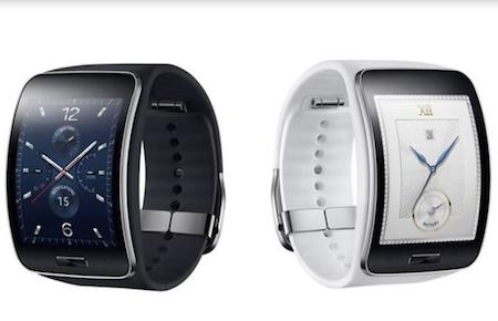 Samsung trình làng Galaxy Gear S với màn hình cong, kết nối 3G