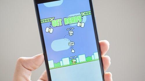 game mới, Hà Đông, Swing Copters, Flappy Bird, bị chê, khó, không hay