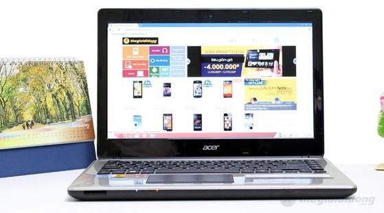 """Acer Aspire E1 470 là laptop cấu hình core i3 với giá thành rất """"sinh viên""""."""