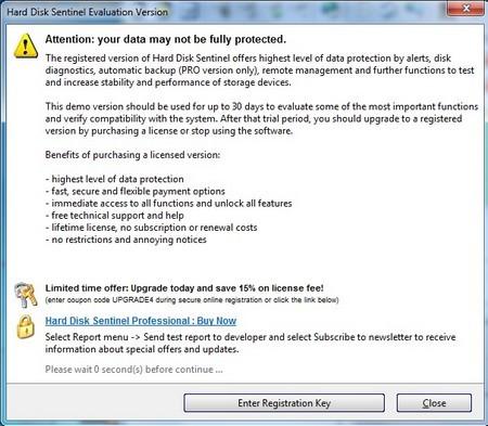 Quản lý tình trạng sức khỏe trên ổ cứng để đề phòng mất mát dữ liệu