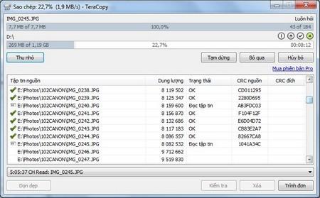 Tuyệt chiêu tăng tốc độ sao chép dữ liệu trên Windows
