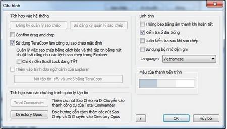 Bây giờ ngôn ngữ của phần mềm sẽ được tự động chuyển sang thành tiếng Việt.