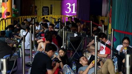 Singapore là một trong những nước đầu tiên bán iPhone 6.