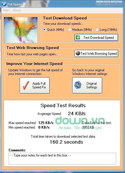 Top phần mềm miễn phí tăng tốc Internet