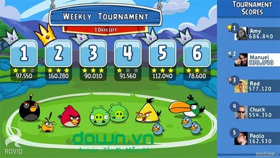 Tổng hợp tất cả các phiên bản của game Angry Birds
