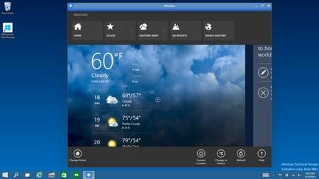 Cửa sổ ứng dụng chạy trực tiếp trên Desktop