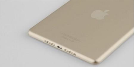 iPad Air, gold