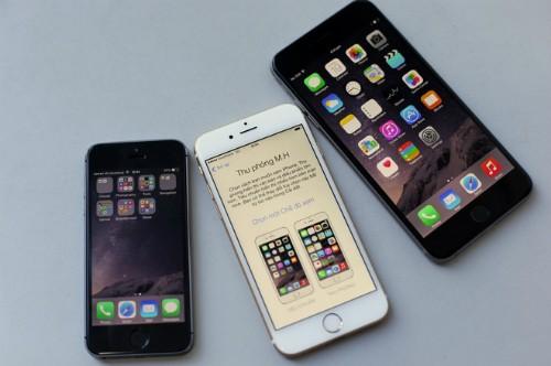 iPhone 6 với màn hình 4,7 inch hấp dẫn hơn cả iPhone 5S lẫn iPhone 6 Plus.