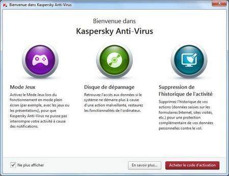 Giao diện mới trên Kaspersky Antivirus 2015 được thiết kế đơn giản và rõ ràng hơn