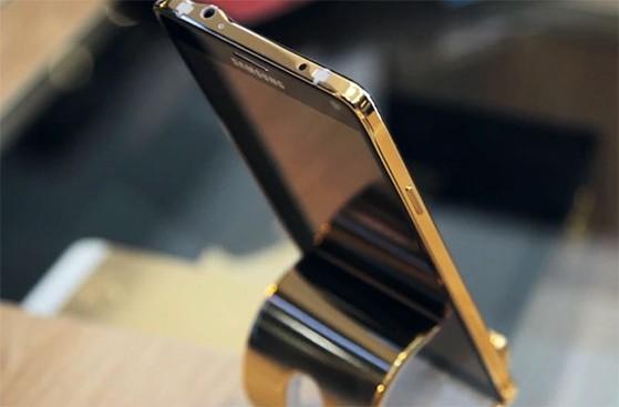 Samsung Galaxy Note 4 phủ vàng 24K tại Việt Nam giá 42.4 triệu đồng