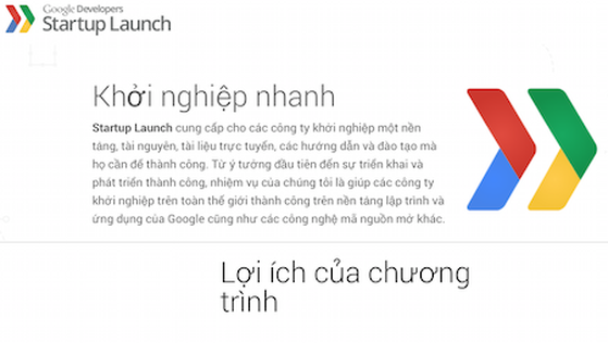 Google Developers Startup Launch