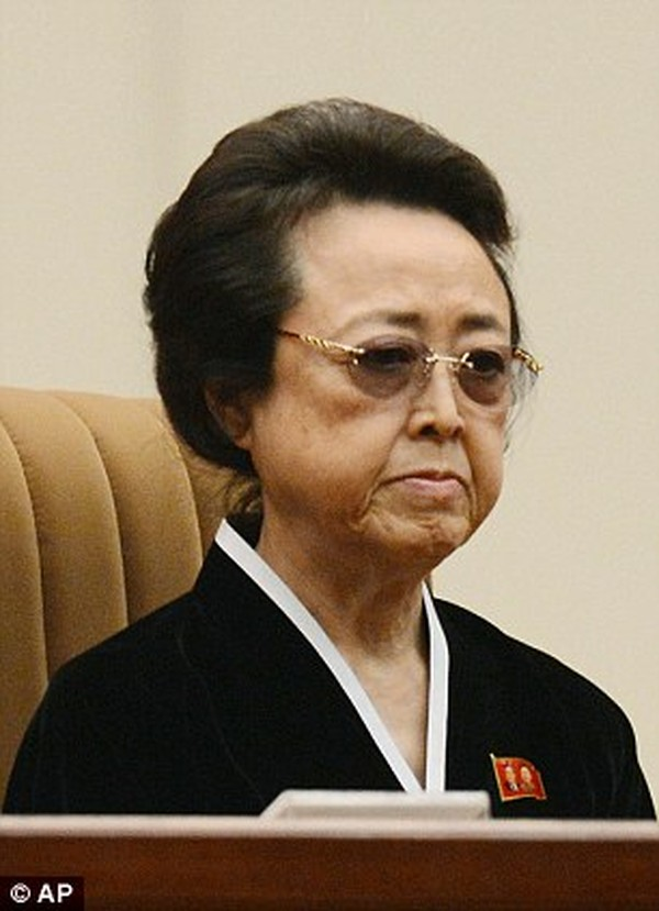 Kim Kyong-hui, 67, is said to have died less than a month after her husband was executed by her nephew, Kim Jong-un