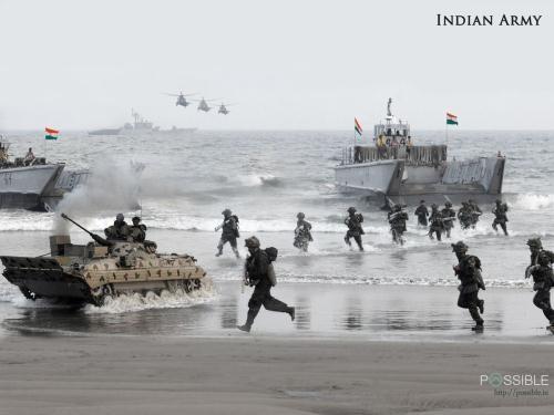Lực lượng đổ bộ của Ấn Độ đang được hiện đại hóa bằng những khí tài quân sự của Mỹ