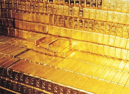 Giá vàng tăng mạnh nhất 7 tuần