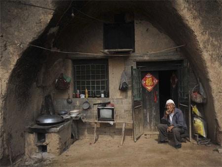 Nhiều người Trung Quốc sống trong hang tập trung ở tỉnh Thiểm Tây.