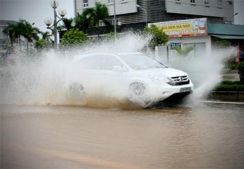 Các đô thị cần có biện pháp đề phòng ngập lụt. Ảnh: Bá Đô.