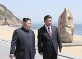 Clip: Ông Tập và ông Kim cùng đi dạo trên bờ biển Đại Liên