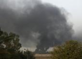 Nhiều tên lửa rơi gần sứ quán, căn cứ quân sự Mỹ