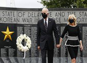 Ông Joe Biden xuất hiện trở lại sau hơn 2 tháng tránh dịch