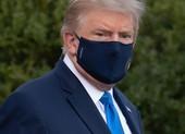 Có thông tin ông Trump phải thở oxy trước khi đến bệnh viện
