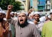 Dân Hồi giáo biểu tình chống ông Macron vụ 'thầy giáo Pháp'